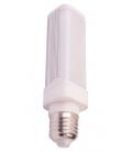 V-Tac 6W LED PL pære - Roterbar, E27