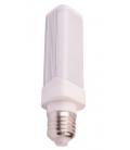V-Tac 10W LED PL pære - Roterbar, E27