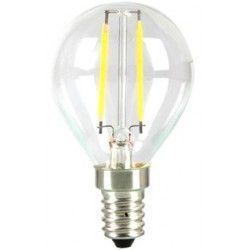 E14.2W.krone.dim: LEDlife 2W LED krone pære - Kultråd, P45, varm hvid, E14