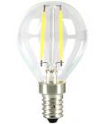 V-Tac 2W LED krone pære - Kultråd, P45, varm hvid, E14