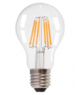 6W E27 LED pære - 550lm, 300 grader