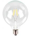 V-Tac 6W LED globepære - Kultråd, G125, varm hvid, E27