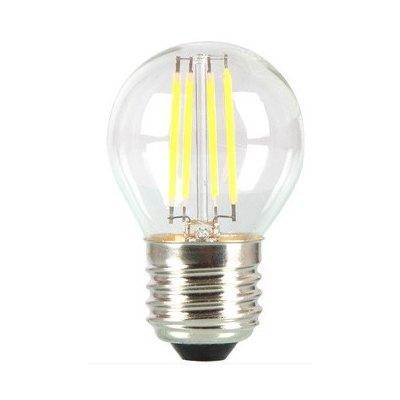 Image of   V-Tac 4W LED kronepære - Kultråd, E27 - Kulør : Neutral, Dæmpbar : Ikke dæmpbar