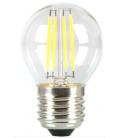 V-Tac 4W LED kronepære - Kultråd, E27