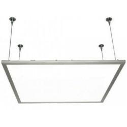 LED Panel 60x60 med ophæng - 45w, 3600 lumens, hvid kant