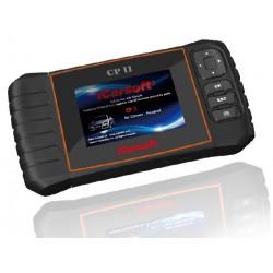 obd.icar.CP.II: iCarsoft CP II - Citroen, Peugeot, nulstil service og bremser, multi-system scanner