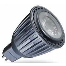 MR16 / GU5.3 fatning V-Tac 7W LED spotpære - 12V, MR16 / GU5.3