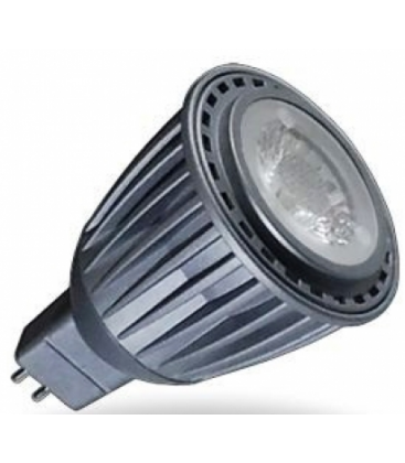 7W GU10 LED Spot med Linse - Fokuseret 38 grader, 550lm, Varm hvid