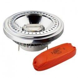 V-Tac 15W dæmpbar LED pære - Varm hvid, 230v, G53 AR111