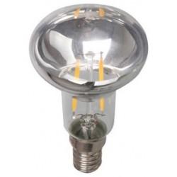 V-Tac 2w E14 LED spot pære - Kultråd, R39, kompakt, Varm hvid