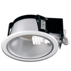 VENA E27 LED Indbygningsspot - Hvid, E27