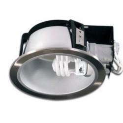 vena.nik.ind: VENA E27 LED Indbygningsspot - Blank Nikkel, E27