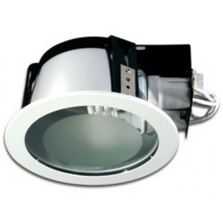 pica.hvid.ind: PICA LED Indbygningsspot - Hvid, E27 lampe