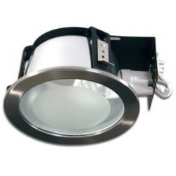 pica.nik.ind: PICA LED Indbygningsspot - Blank Nikkel, E27 lampe