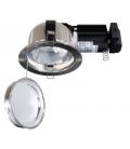 CEPO E27 LED Indbygningsspot - Blank Nikkel, E27 lampe