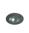 CAPO R7s LED Indbygningsspot - Grå, R7s fatning, Lav højde