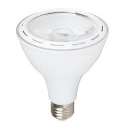 Skinnespots LED V-Tac 12W LED spotpære - Par30, E27