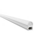 V-Tac T5-BASIC60 - Komplet LED lysstofrør + armatur, 7w, 60cm, Tænd/sluk kontakt