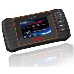 obd.icar.VAG.II: iCarsoft VAG II - Audi, VW, Seat, Skoda, nulstil service og bremser, multi-system scanner