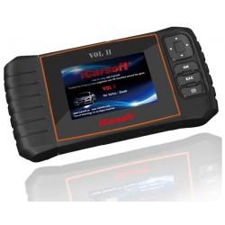 obd.icar.vol.II: iCarsoft VOL II - Volvo, Saab, nulstil service og bremser, multi-system scanner