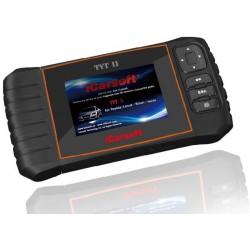 obd.icar.tyt.II: iCarsoft TYT II - Toyota, Lexus, nulstil service og bremser, multi-system scanner