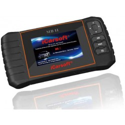 obd.icar.mb.II: iCarsoft MB II - Mercedes Benz, Sprinter, Smart, nulstil service og bremser, multi-system scanner