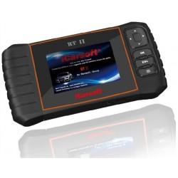 obd.icar.rt.II: iCarsoft RT II - Renault, Dacia, nulstil service og bremser, multi-system scanner