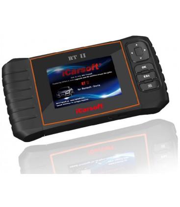 iCarsoft RT II - Renault, Dacia, nulstil service og bremser, multi-system scanner