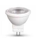 2W LED Spot - Plastik hus, Varm hvid, 140lm, 38 grader