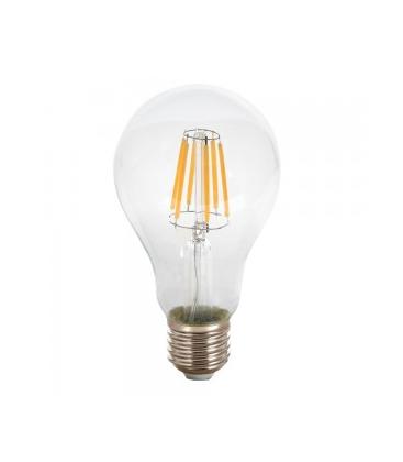 V-Tac 8W LED Pære - Kultråd, A67, E27