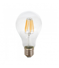 8W LED Pære - Filament, Varm hvid, E27