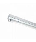 Åbent T8 LED armatur - 120cm, IP20