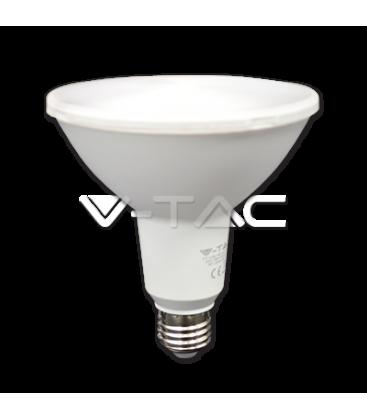 V-Tac 15W LED Pære - PAR38, IP65 godkendt, E27