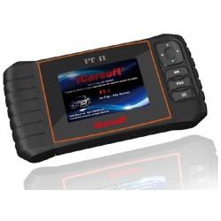 obd.icar.FT.II: iCarsoft FT II - Fiat, Alfa Romeo, nulstil service og bremser, multi-system scanner
