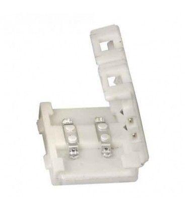 Samler til 5050 LED strips - Enkelt farve (1 cm), 12V / 24V