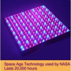 LED vækstpanel, 15w, 220v, Grow lamp