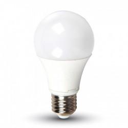 V-Tac 7W LED pære - A60, varm hvid, E27, Varm hvid