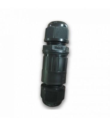 V-Tac rund vandtæt samledåse - Til samling af ledninger, IP65, sort