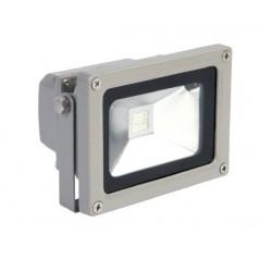 10w.proj.RGB: LED projektør 10W RGB - Med fjernbetjening, arbejdslampe, udendørs