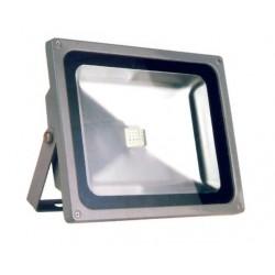 LED projektør 30w RGB med fjernbetjening