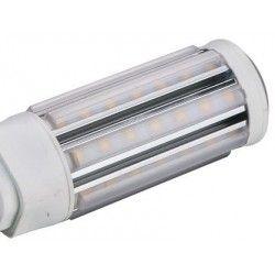 GX24Q LED pære - 11W, 360°, kort model, varm hvid, mat glas