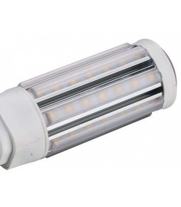 Image of   LEDlife GX24Q LED pære - 11W, 360°, kort model, varm hvid, mat glas, Kulør: Varm