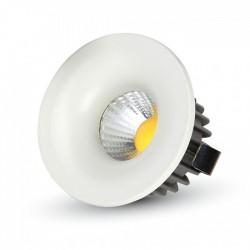 VT-1123RD: V-Tac 3W LED indbygningsspot - Hul: Ø3,5 cm, Mål: Ø4,5 cm, 230V