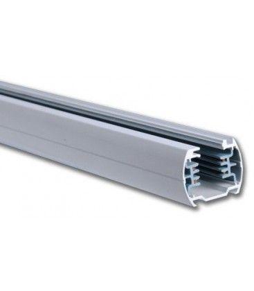 V-Tac 1,5 meter skinne til LED skinnespots - Sølv, 3-faset