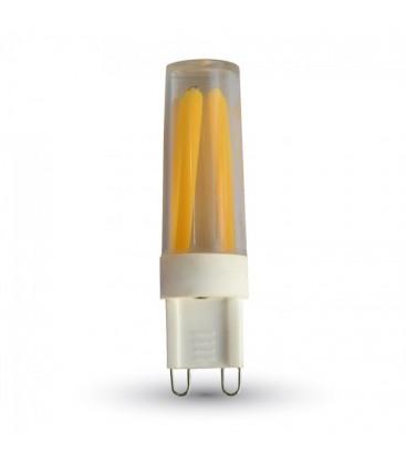 V-Tac 3-pak af 3W LED pærer - Varm hvid, 230V, G9