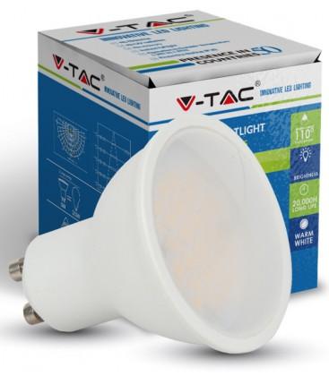 7W LED Spot - Varm hvid, 500lm, GU10