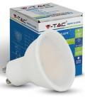 V-Tac FROST7 - 7W Dæmpbar LED Spot, Varm hvid, Høj spredning, GU10
