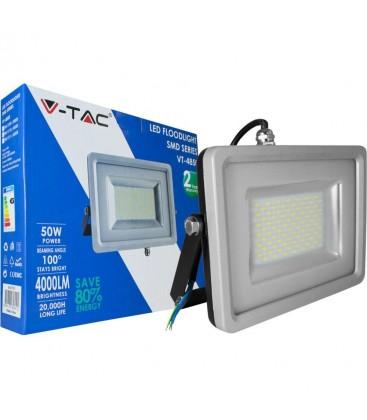 50W LED Projektør - 3000k varm hvid, 1600lm, 100 grader