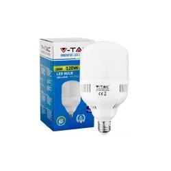 Demo og restsalg Restsalg: V-Tac 20W LED pære - 1600lm, E27