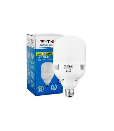 20W E27 LED pære - 1600lm, 200 grader, plastik hus